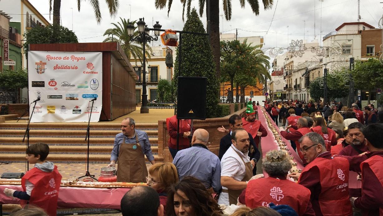 Participamos en el Primer Rosco de Reyes Solidario de Alcalá de Guadaíra