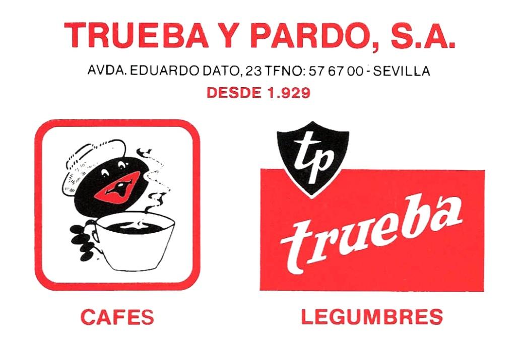 Tarjeta de Trueba y Pardo, SA
