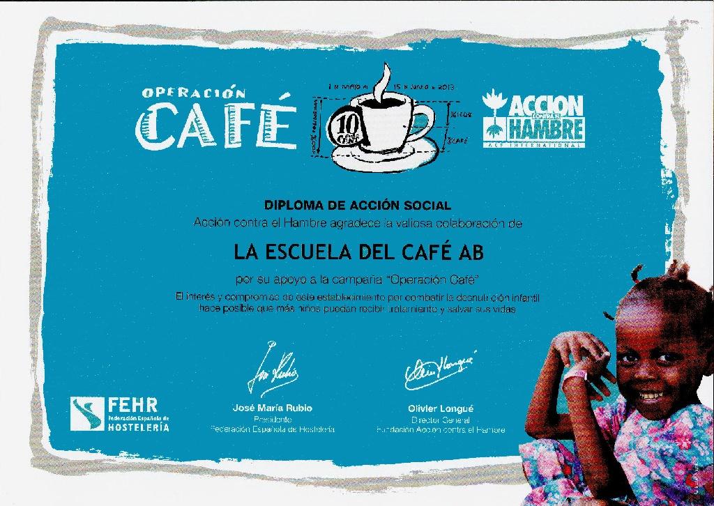 Operación Café - Acción contra el Hambre
