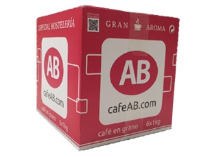 Nueva caja 6x1kg de Café AB