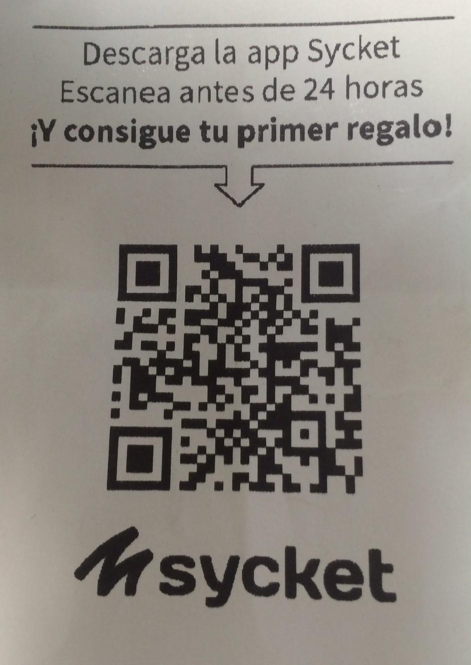 Ticket con Codigo QR