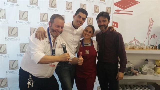 Chava, Rabi y Raquel en H&T Málaga