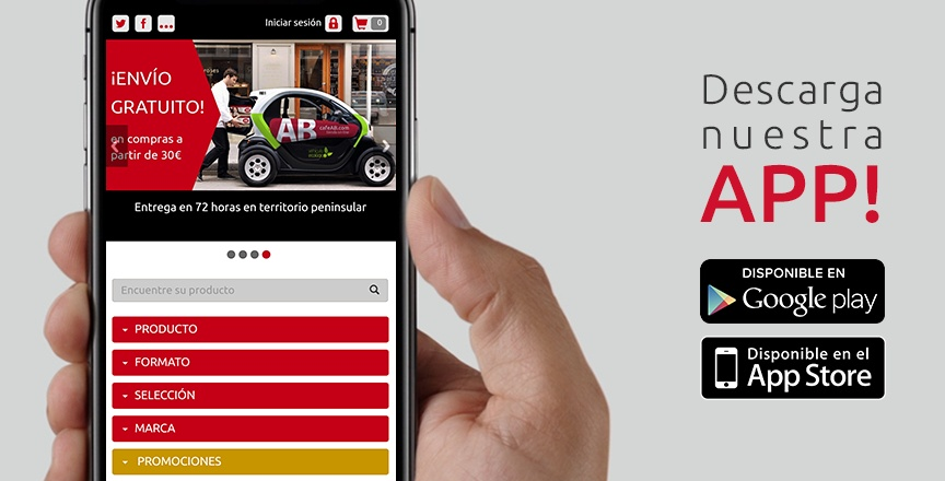 Nueva APP iOS y Android