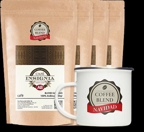 Pack 4 BLEND NAVIDAD INSIGNIA + Jarrillo vintage con descuento 50%