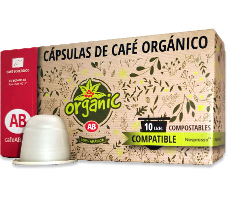 Cápsulas Café AB Organic compatible Nespresso®
